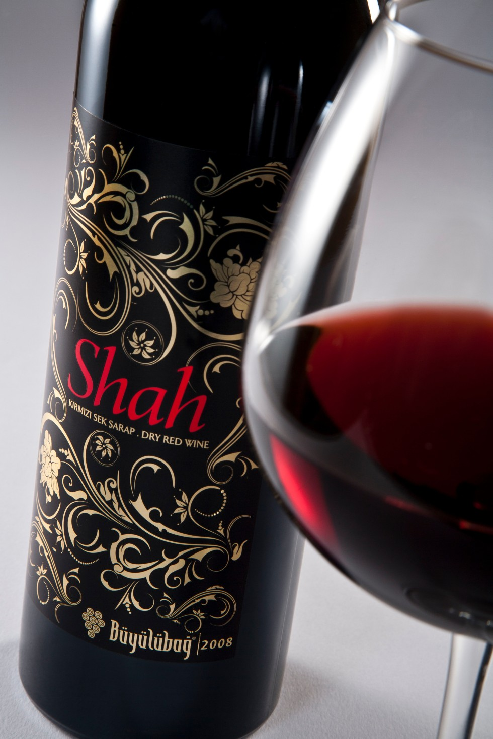 Syrah wine from Turkey